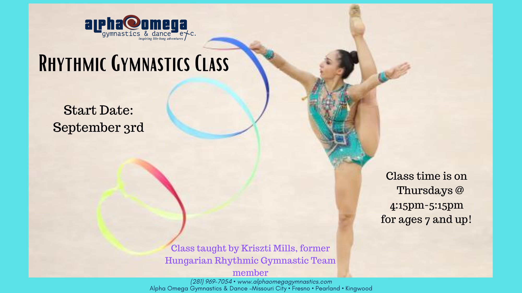 Rhythmic Gymnastics Class