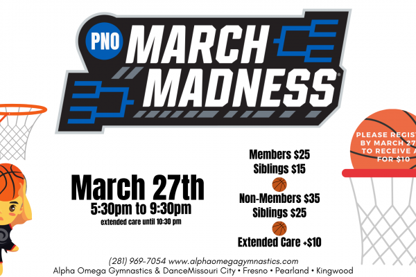 March Madness Parent's Night Out