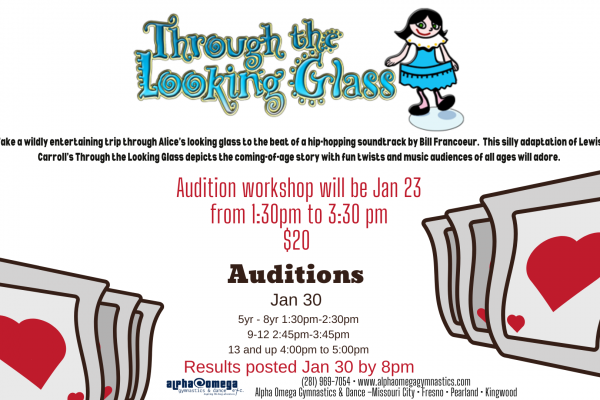 Through The Looking Glass Auditions